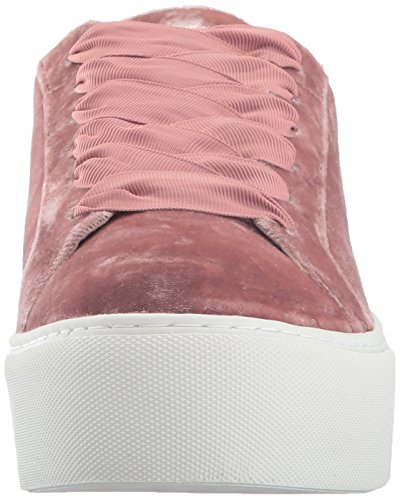 Kenneth Cole New York Femmes Abbaye Plate-forme Lace Up Velours Mode Sneaker Blush