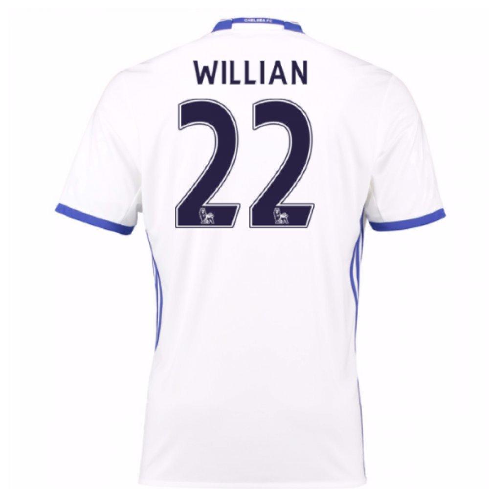 2016-17 Chelsea 3rd Football Soccer T-Shirt Trikot (Willian 22) - Kids