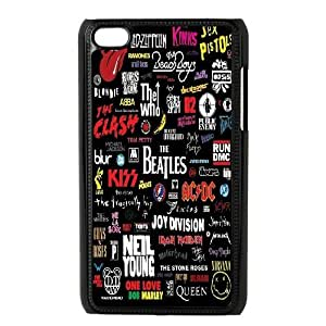Chaap And High Quality Phone Case FOR IPod Touch 4th -Love Music Pattern-LiShuangD Store Case 9