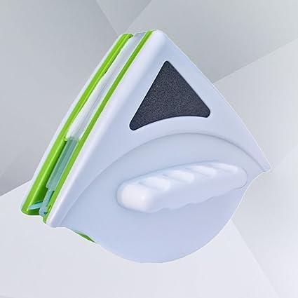 OUNONA - Escobilla limpiaparabrisas magnética de doble cara para cristal de 20 – 30 mm de