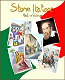 Front cover for the book Storie Italiane: Short stories in Italian for young readers and Italian language students (Italian Edition) by Long Bridge Publishing