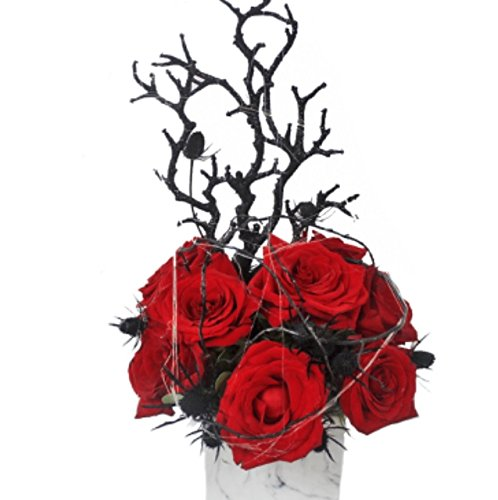 Ashland Addison - ''Web of Roses'' - Fresh Hand Delivered Bouquet - Chicago Area Delivery by Ashland Addison Florist