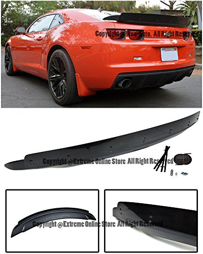 EOS Body Kit Rear Wing Spoiler Trunk Wicker Bill - For Chevrolet Chevy Camaro 10-13 2010 2011 2012 2013 ZL1 (Chevy Spoiler)