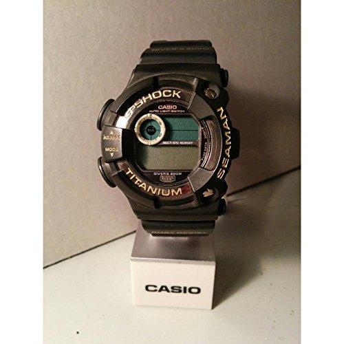 Reloj Casio G-shock dw-9950 al cuarzo (batería) Titanio quandrante negro correa policarbonato: Amazon.es: Relojes
