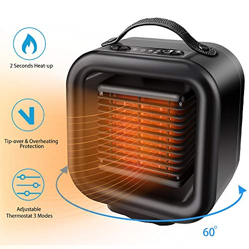 500w ceramic heater - 3