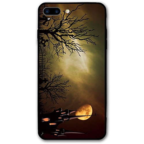 What Is So Spooky About Halloween IPhone 7 Plus Case Clearly Designed Texture Pattern Premium Hybrid Protective Clear Case For Apple IPhone 7 (Event City Halloween)