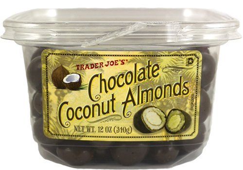 Amazon.com : Trader Joe's Chocolate Coconut Almonds (2 Pack ...