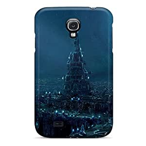High-end Case Cover Protector For Galaxy S4(blue City)