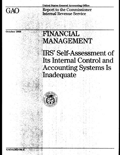 Financial Management: IRS' Self-Assessment of Its Internal Control and Accounting Systems Is Inadequate