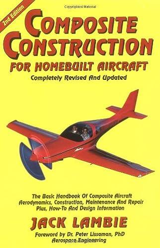 composite construction for homebuilt aircraft the basic handbook of rh amazon com