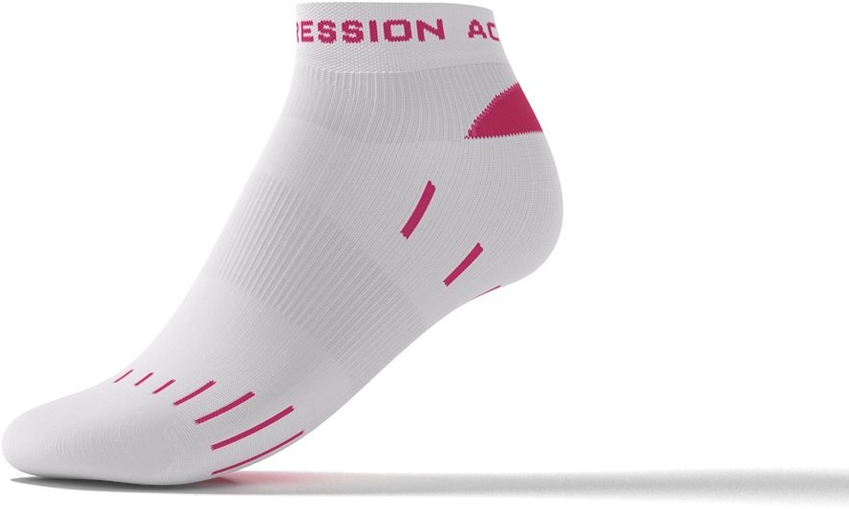 Active Compression – Calcetines unidad Zapatillas Running para Durabilidad, deportistas Camino, triathleten y muchos más... de blanco/rosa Sport Medias de compresión de compresión Medias Calcetines Calcetines: Amazon.es: Ropa y accesorios