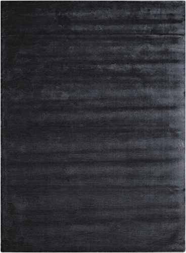 Nourison Ck18: Lunar (LUN1) Obsid Rectangle Area Rug, 3-Feet 6-Inches by 5-Feet 6-Inches (3'6