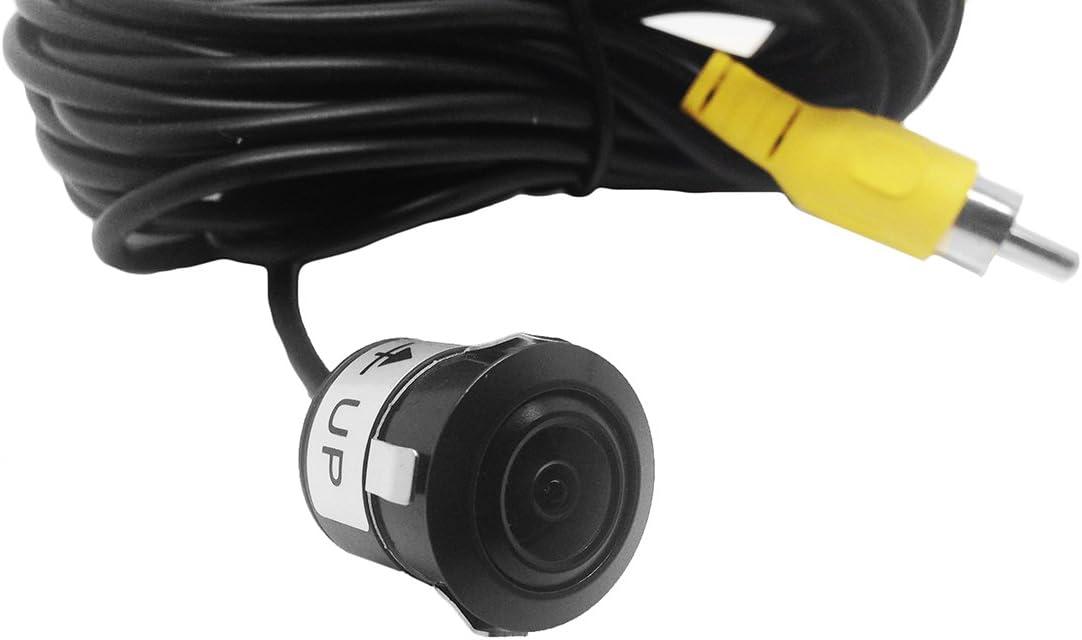 /bala Pin agujero c/ámara de copia de seguridad Delf/ín 12/V Micro peque/ñas color coche Van aparcamiento c/ámara de marcha atr/ás con reverso directrices/
