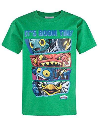 official-skylanders-trap-team-boom-time-kids-t-shirt-5-6-years