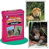 "Webber ""Animals"" Photo Card Deck - Super Duper Educational Learning Toy for Kids"