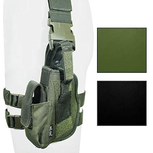 Mil-Tec Tactical Pistol Holster - Left Leg (Black)