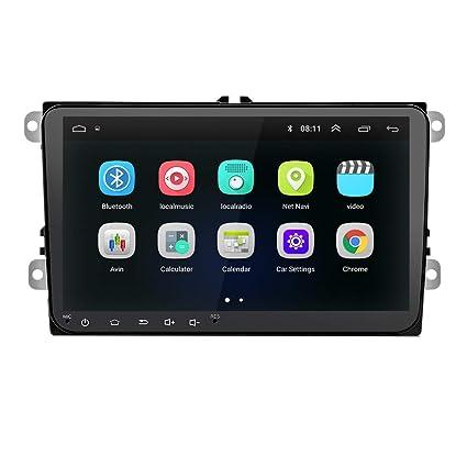 TOOGOO 9 Pulgadas Android 8.0 Doble 2Din Radio De Coche GPS Radio ...