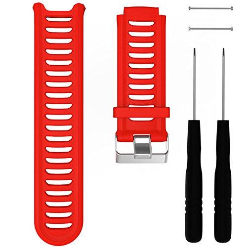 Malla para  Garmin Forerunner 910XT, rojo