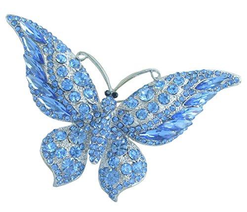 Blue Butterfly Pin - Sindary 3.74