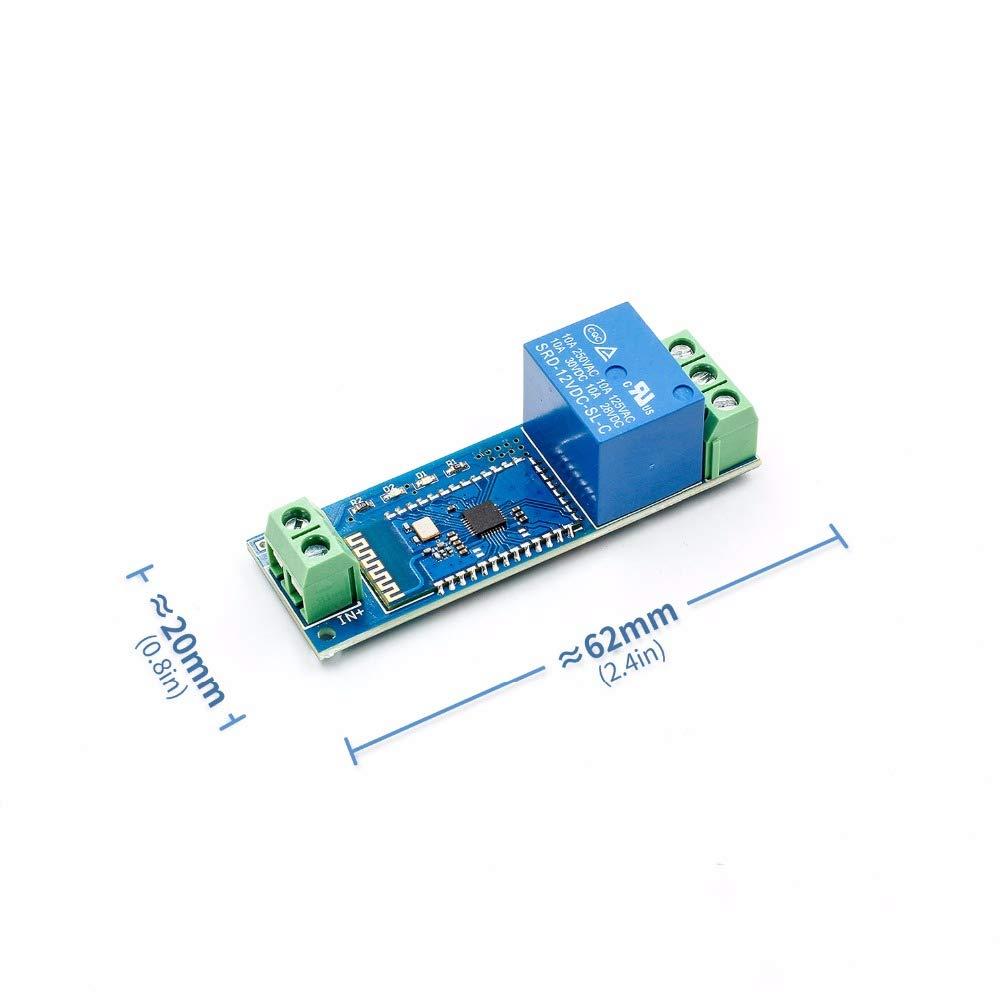 Amazon com: Yoneix Smart Bluetooth Relay Module Remote Control