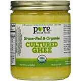 Grassfed Organic Cultured Ghee 14 oz (2-Pack)