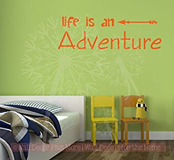 Amazon Com Wall Decor Plus More Wdpm3960 Life Is An Adventure Home