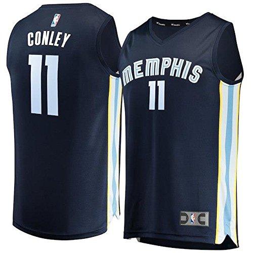 Fanatics Branded Fanatics Branded Mike Conley Memphis Grizzlies Navy Fast Break Replica Jersey - Icon Edition スポーツ用品 【並行輸入品】 B07FSN94YH   M