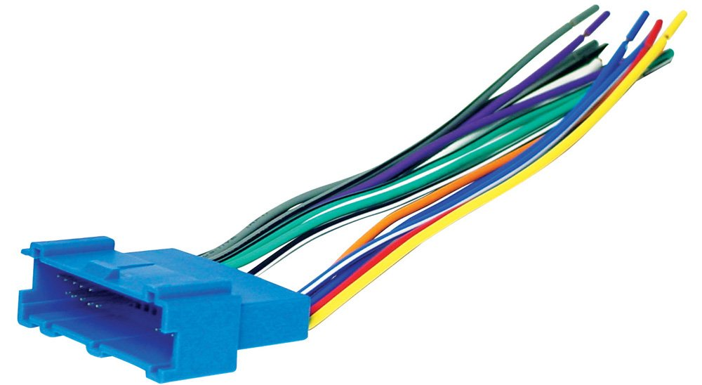 51eXvImp%2BaL._SL1000_ amazon com scosche gm03b 1994 05 gm power speaker wire harness gm wiring harness connector pins at crackthecode.co