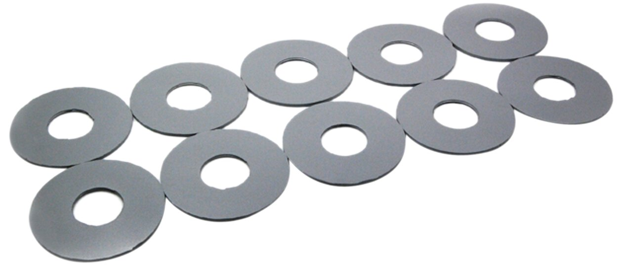 Toto THU096 10 Piece Flapper Gasket Set for Drake, Ultimate, Ultramax, Vespin Toilet by TOTO