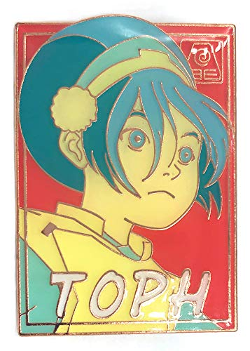 Pastel Toph - Avatar: The Last Airbender Collectible Pin (Avatar The Last Airbender Katara And Toph)