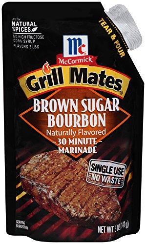 Brown Sugar Bourbon (McCormick Grill Mates Brown Sugar Bourbon Single Use Marinade, 5 oz (Case of 6))