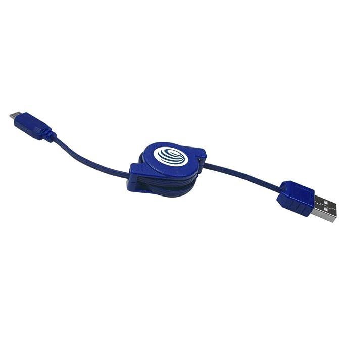 Prime USB Kabel Ladekabel ausziehbar Rollkabel für HTC One M8