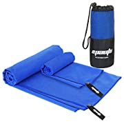 2 Pack Gym Towel – EPAuto Microfiber Fast Drying Towels for Travel Beach and Gym