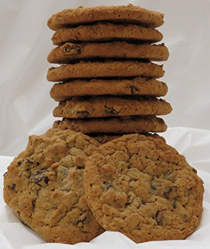 Homemade Oatmeal Raisin Cookies - 1 Dozen