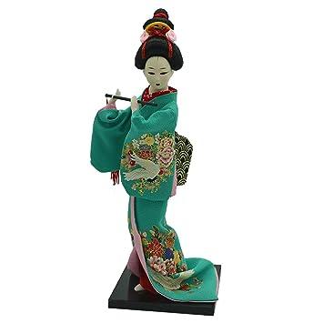 Amazon.es: Homyl Modelismo Figurita Niña Kimono Japonesa ...
