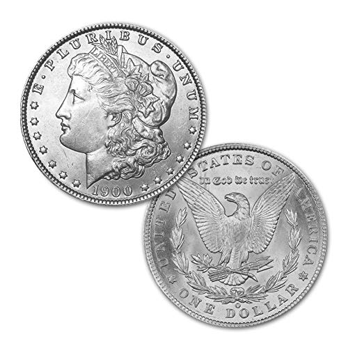 (1900 O Morgan Silver Dollar $1 Brilliant Uncirculated)
