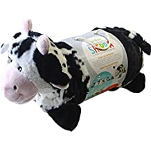Little Miracles Baby Blanket & Plush Cow Snuggle Me Sherpa