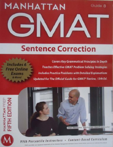 guide 8 the sentence correction guide