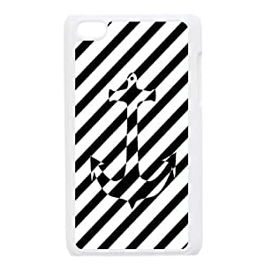 Sailor Anchor Customized Cover Case for Ipod Touch 4,custom phone case ygtg574607