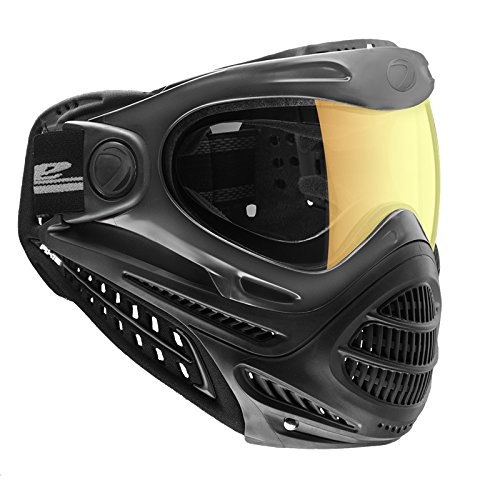 Dye Axis Pro Paintball Goggle - Black Faded Sunrise by Dye