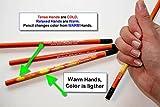 Mood Pencil - 2500 Pencils, Color Change Stress Test