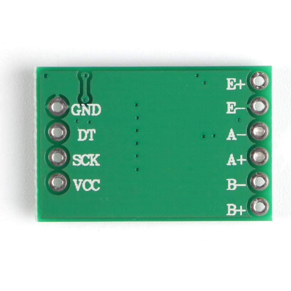 Innovateking-EU 6 st/ücke HX711 Gewicht Sensor Arduino Modul 24-Bit Pr/äzision AD Modul Dual-Kanal f/ür Arduino DIY