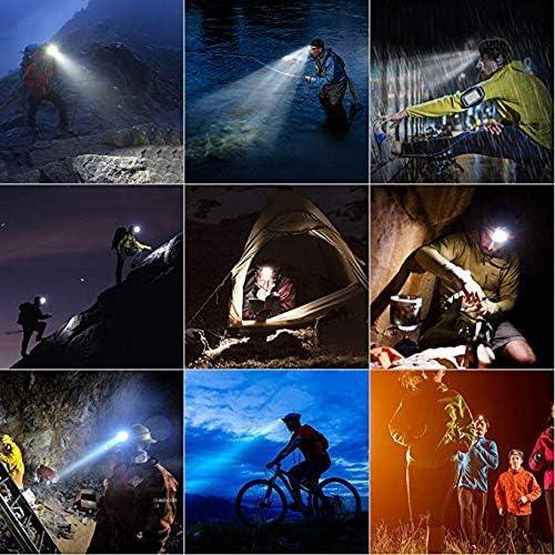 Sortie Oumefar Lampe de Poche /à Forte luminosit/é avec Corne antivol Lampe /étanche Cyclisme et randonn/ée sur Le Terrain de Camping