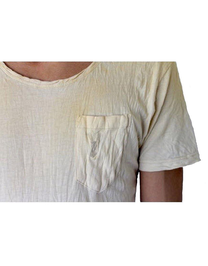 Pearly King Mens Malt T-Shirt Beige PKTS061