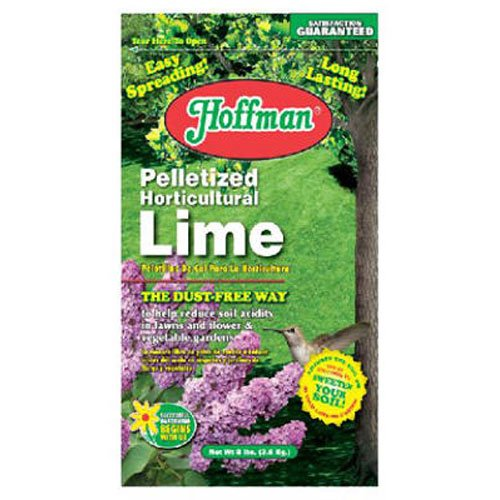 HOFFMAN 15208 Pelletized Garden Lime, 8 Pounds