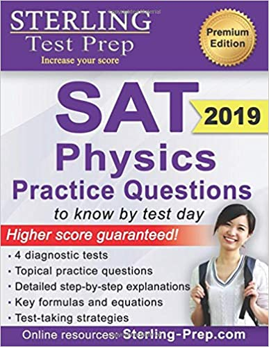 Sterling Test Prep SAT Physics Practice Questions: High