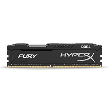 HyperX Fury - Memoria RAM de 16 GB (DDR4, 2400 MHz, CL15, DIMM XMP ...