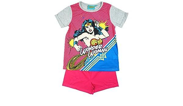 Wonder Woman - Pijama - para niña multicolor multicolor 3-4 Años: Amazon.es: Ropa y accesorios