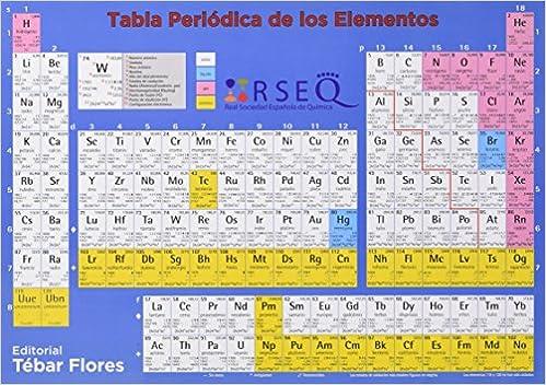 Tabla periodica de los elementos 2017 9788473605991 books amazon urtaz Images