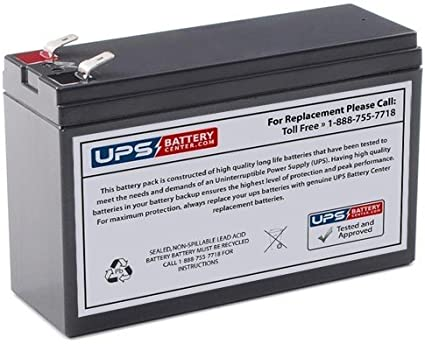 New Compatible Replacement Battery for APC Back-UPS ES 750VA BE750G by UPSBatteryCenter